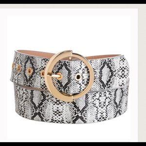 Accessories - JUST IN!⭐️💕Vegan Leather Snakeskin Belt!